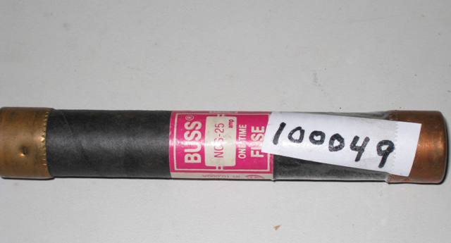 Bussmann NOS-25 One-Time Fuse