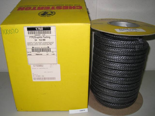 Chesterton PTFE/ Graphite Packing 3/4 19,0 MM