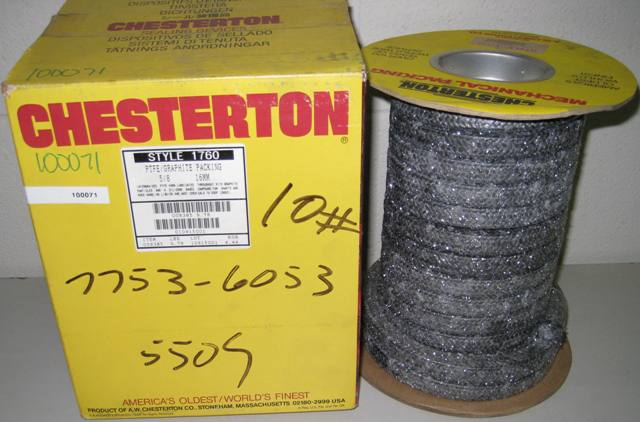 Chesterton PTFE/ Graphite Packing 5/8 16MM Style 1760