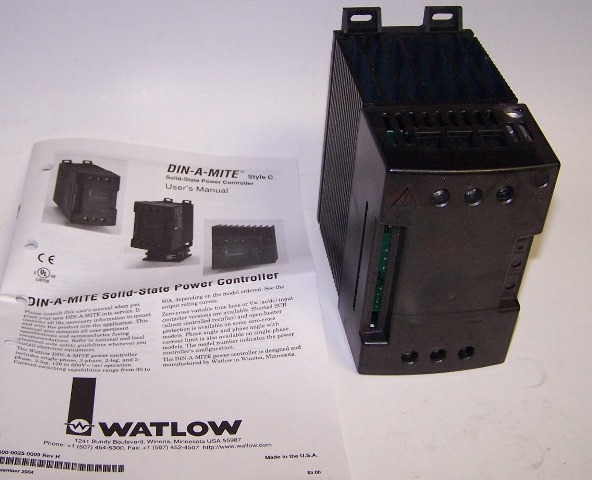 Watlow DIN-A-MITE Solid State Power Controller