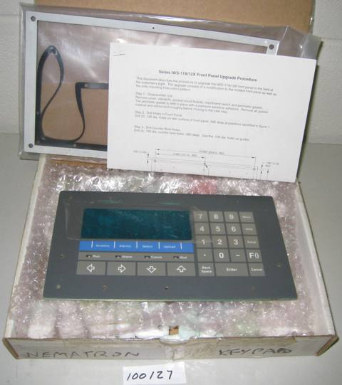 Nematron IWS-11X/12X Switch Matrix Assembly Keypad