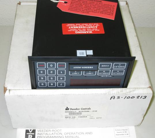 Veeder-Root Danaher Controls PROG RATE/TIME/CNT CONT, RS422