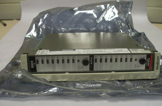 Modicon AS-B814-108 relay output module, 8 outputs