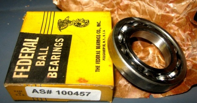 The Federal Bearings Co. BALL BEARINGS (R20)