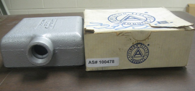 Appleton Electric Products Cast Device Box Unilets FS-2-75