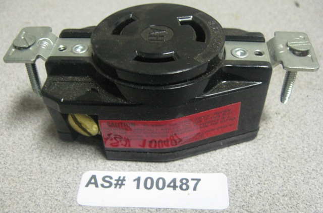 Arrow Hart Division Single Receptacle 3330 30amp 125/250