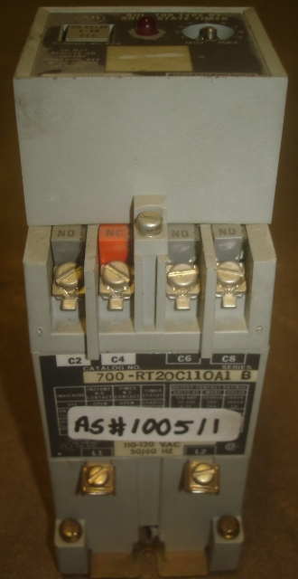 Solid State Timer Bul. 700 Type RT Allen Bradley
