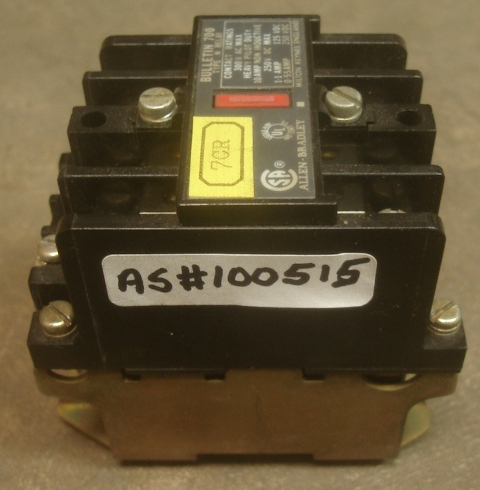 Relay type.n Bulletin 700 Allen Bradley