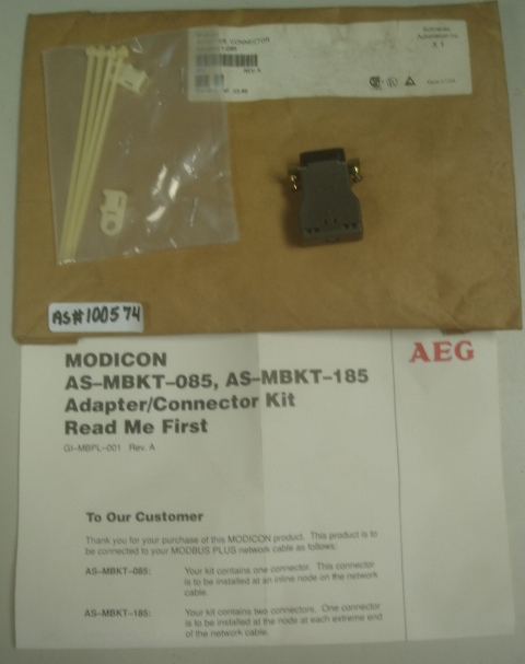 MODICON AS-MBKT-085, AS-MBKT-185 Adapter/Connector Kit