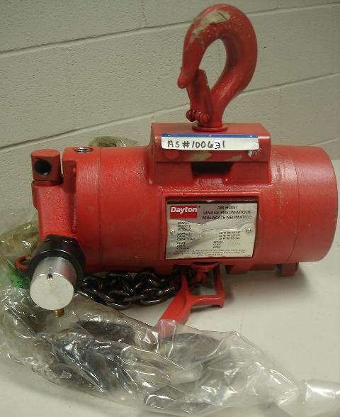 DAYTON AIR HOISTS 1/2 TON