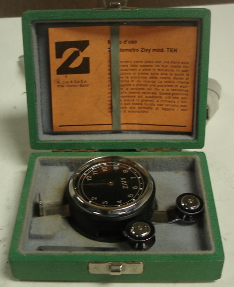 Tensiometer Zivy Type TEN 2-12 grams