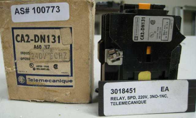 Telemecanique CA2-DN131  Control Magnetic Relay