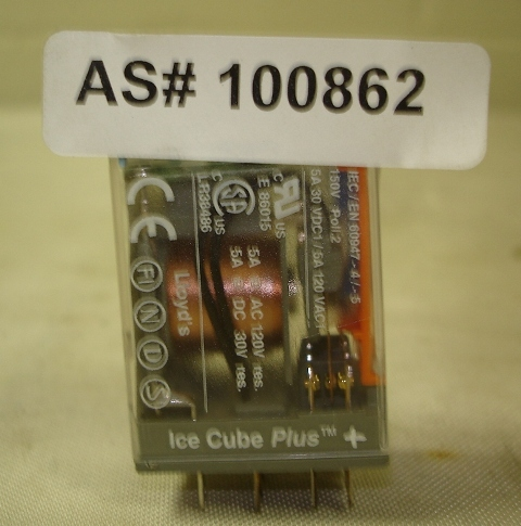 1 pole miniture power plug-in relay Releco Serie QR-C DC24