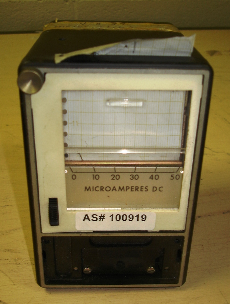 Microamperes DC Model: 288