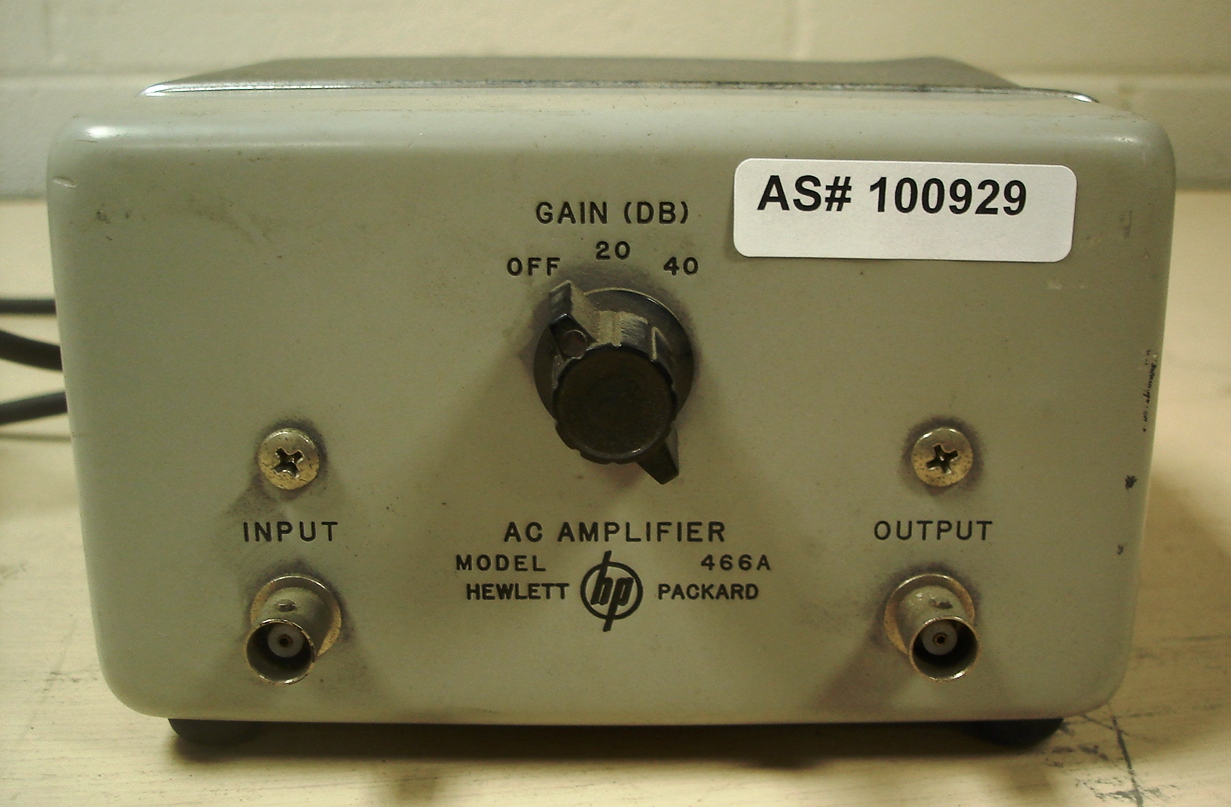 Hewlett Packard AC Amplifier