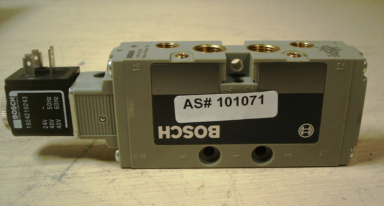 BOSCH Part 1824210243 Manufactured by Bosch Rexroth FORM B DIN 43650 24 DC COIL