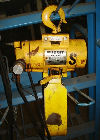 Budgit Air Hoist 1000LB @ 90psig