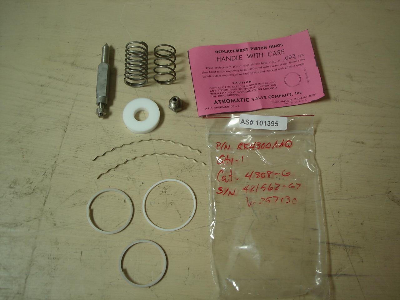 ATKOMATIC Replacements Parts