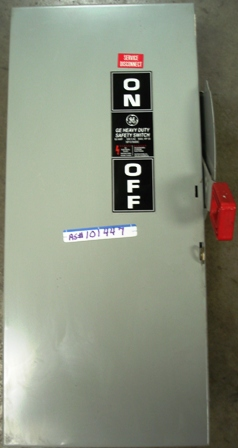 GE Safety Switch 60amp., 600V.AC, Max. HP 50