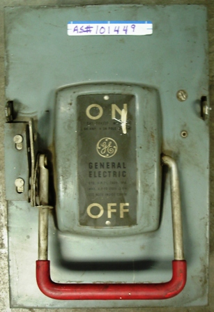 GE Safety Switch 60amp, 4SN Pole 240Vac