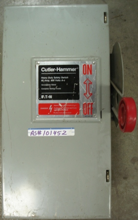Culter-Hammer Safety Switch 60amp, 600 Vac