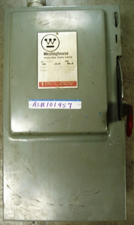 Westinghouse Safety Switch 30amp., 600Vac