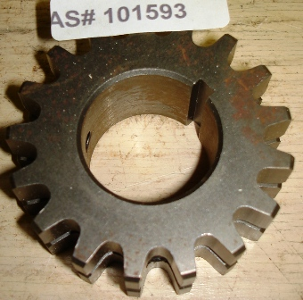 Top Roller Sprocket 17T Saco Lowell
