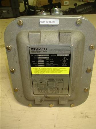 SIMCO Shutdown Circuit Model: XP167