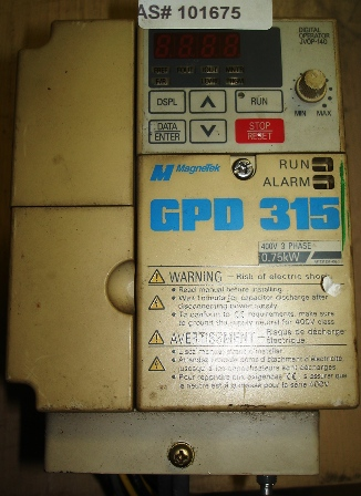 Magnetek GPD 315 Model: MVB003