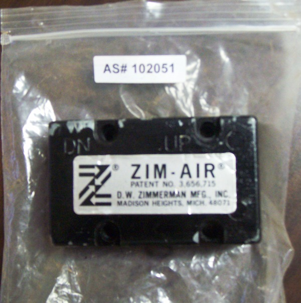 Zim-Air Hoist Hook Control