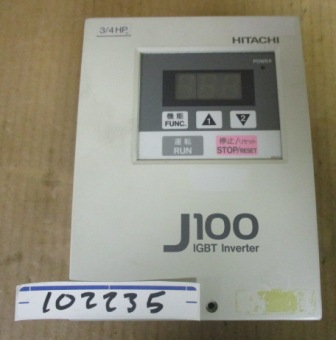 Hitachi J100-004LFU Inverter