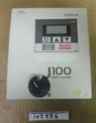 Hitachi J100-007LFU2 Inverter